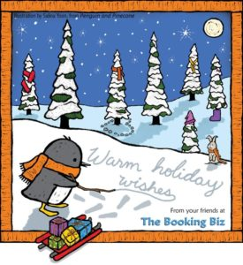 Holiday Wishes from The Booking Biz by Salina Yoon